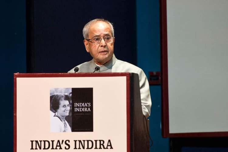 Pranab Mukherjee INC