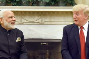 अमेरिकी राष्ट्रपति डोनाल्ड ट्रम्प के साथ भारतीय प्रधानमंत्री नरेंद्र मोदी (फाइल फोटो: पीआईबी)
