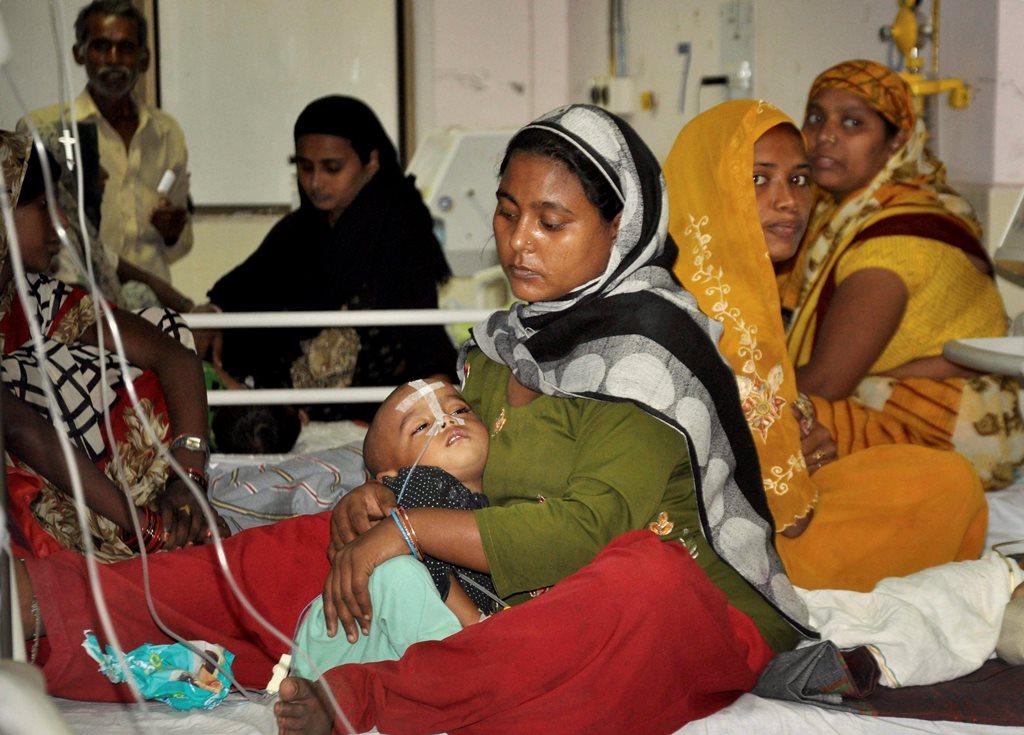 Gorakhpur Encephalitis PTI