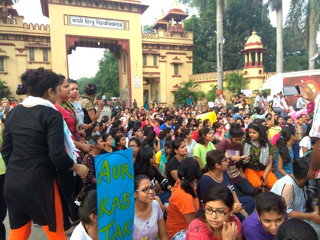 BHU Girls Protest