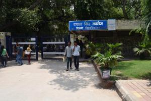 Dayal Singh College DU Edunuts