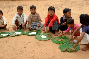 Children Food Mid Day Meal Wikimedia Commons