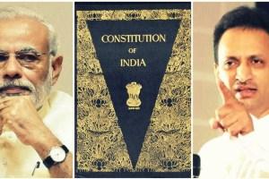 Narendra Modi Constitution Anant Hegde