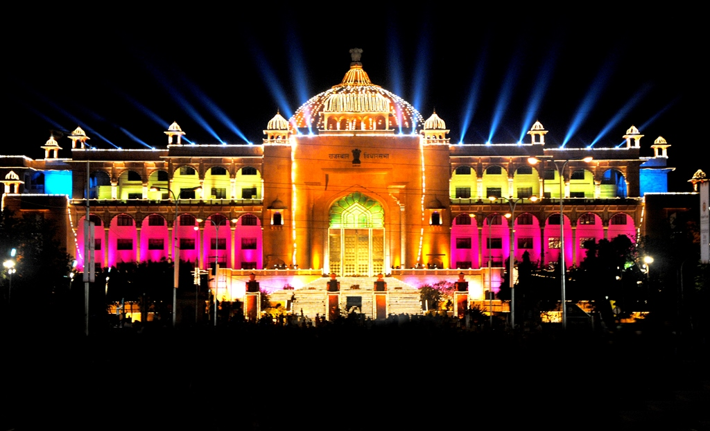 राजस्थान विधानसभा भवन. (फोटो साभार: http://www.rajassembly.nic.in)