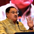 New Delhi: Minister for Health and Family Welfare J P Nadda speaks during the workshop on industries issues on road safety, in New Delhi on Thursday. PTI Photo by Kamal Singh(PTI4_26_2018_000051B)