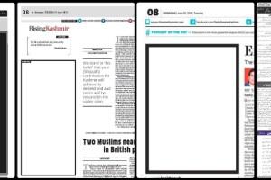 Kashmir editorial Collage