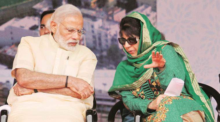 modi-mehbooba PTI Files