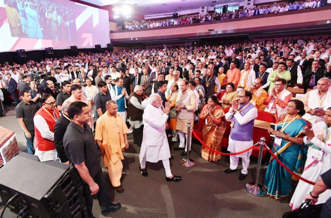 Modi In Lucknow Narendra Modi Twitter