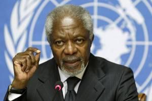 संयुक्त राष्ट्र के पूर्व प्रमुख कोफी अन्नान. (फोटो: रॉयटर्स)