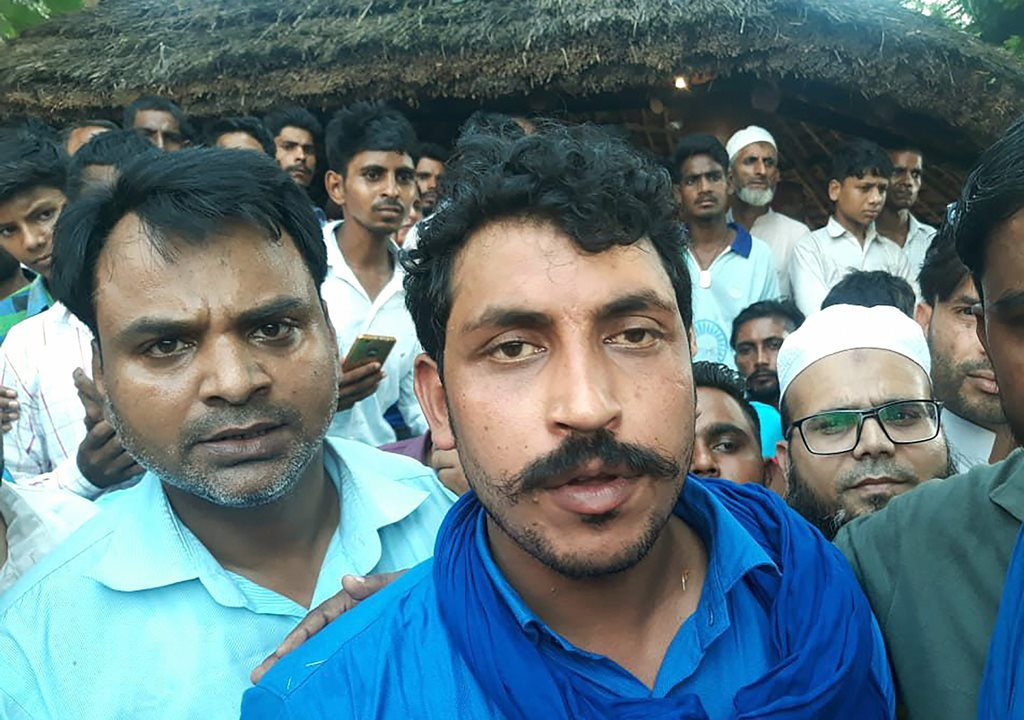 Saharanpur: Bhim Army chief Chandrashekhar Azad after being released from Saharanpur Jail, in Saharanpur, Friday, Sept 14, 2018. Azad was arrested from Himachal Pradesh's Dalhousie in June last year in connection with the May 5 caste violence in which one person was killed and 16 others were injured at Shabbirpur village in Saharanpur. (PTI Photo) (PTI9_14_2018_000122B)