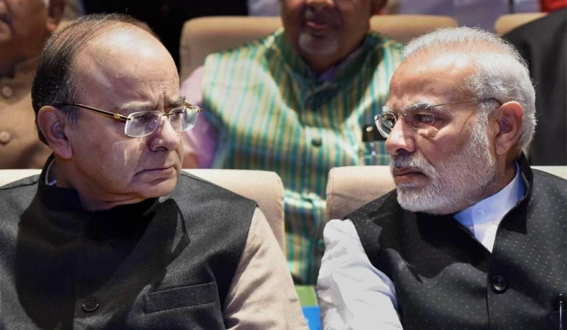 प्रधानमंत्री नरेंद्र मोदी और वित्त मंत्री अरुण जेटली (फोटो: पीटीआई )