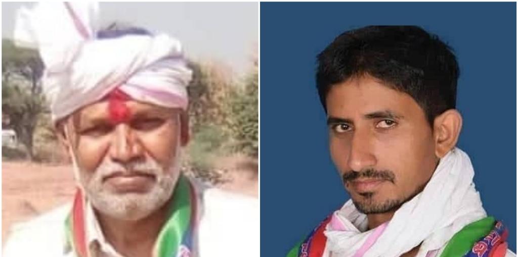 डूंगरपुर ज़िले की सागवाड़ा और चौरासी सीट से भारतीय ट्राइबल पार्टी के विधायक रामप्रसाद (बाएं) और राजकुमार रोट (दाएं).