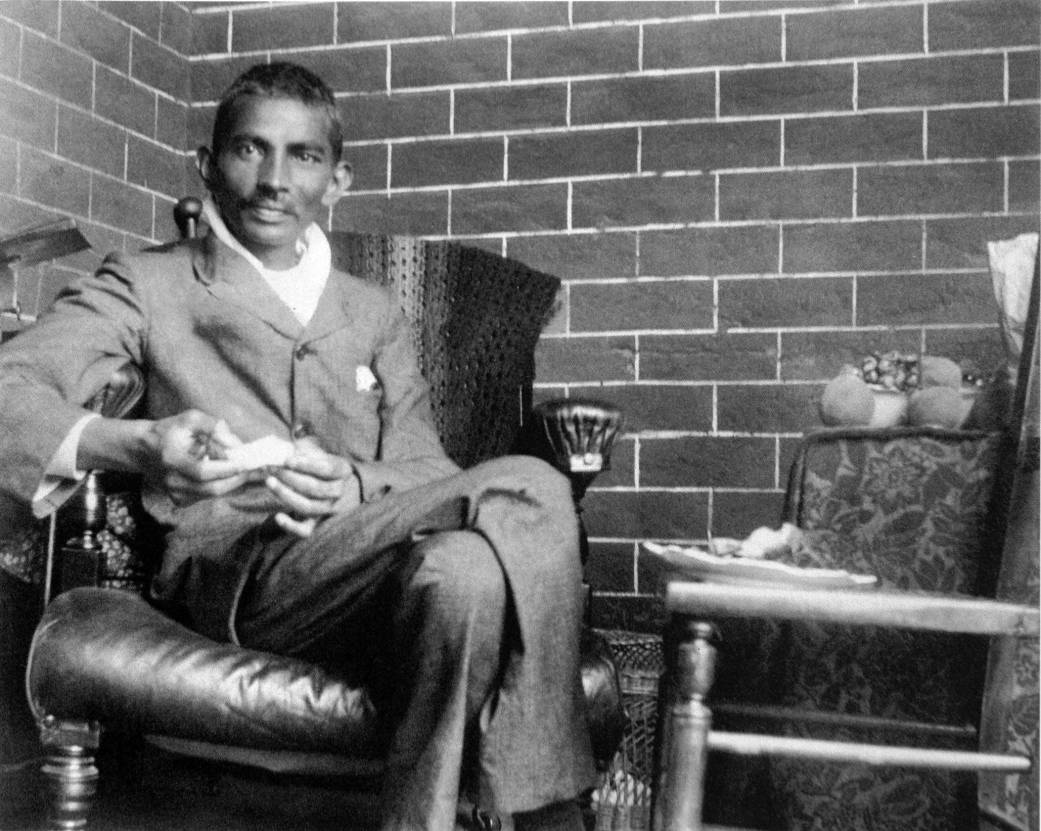 As a young lawyer in South Africa, Gandhi took up the fight against racial oppression. Image: Photographer unknown/Wikimedia Commons