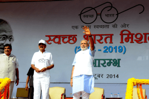 Narendra Modi launching Swachh Bharat photo narendra modi dot in