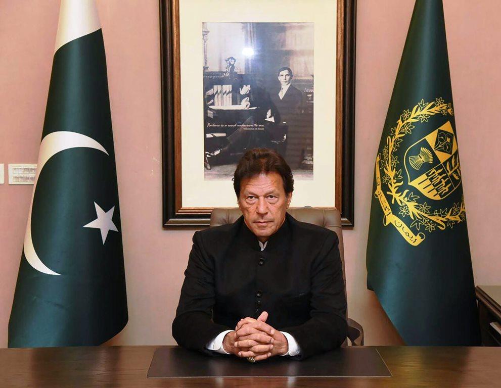 पाकिस्तान के प्रधानमंत्री इमरान ख़ान. (फोटो: पीटीआई)
