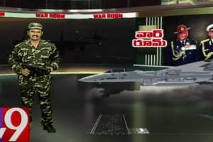 Air StrikeTV 9 Anchor in Military Fatigues