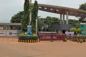 ओडिशा के लांजीगढ़ स्थित वेदांता का एल्युमिनियम प्लांट. (फाइल फोटो: रॉयटर्स)