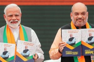 Narendra Modi Amit Shah bjp-manifesto 2019 Reuters Featured