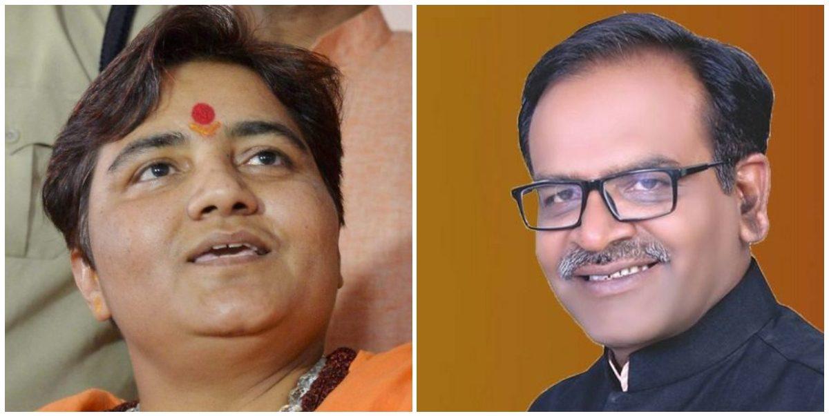 भाजपा सांसद आलोक संजर ने भोपाल लोकसभा सीट से पार्टी के डमी उम्मीदवार के रूप में पर्चा भरा