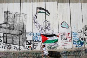 ISRAEL-PALESTIN Flag-Reuters