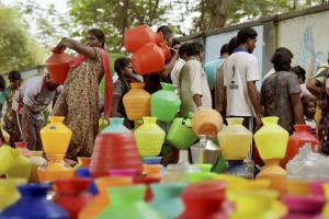 Tamilnadu-water-crisis_Chennai PTI Files