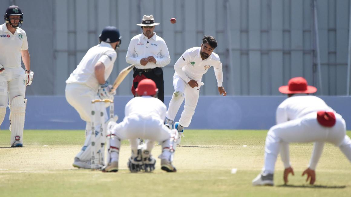 Afghanistan Test Match photo ICC