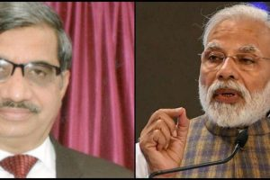 Justice Ranganath Pandey and PM Modi