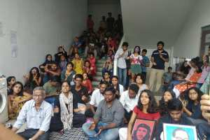 Tiss hyderabad Students Protest Fb