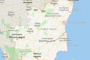 Tamilnadu-Map