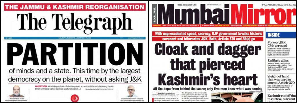 Telegraph Mumbai Mirror papers2-1024x358