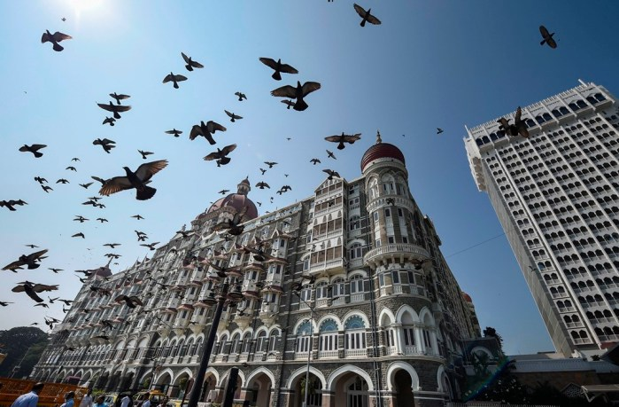 Mumbai: The Taj Mahal Palace, one of the sites of the 2008 Mumbai terror attacks that had claimed 166 lives, in Mumbai, Tuesday, Nov. 26, 2019. (PTI Photo/Mitesh Bhuvad)(PTI11_26_2019_000125B)