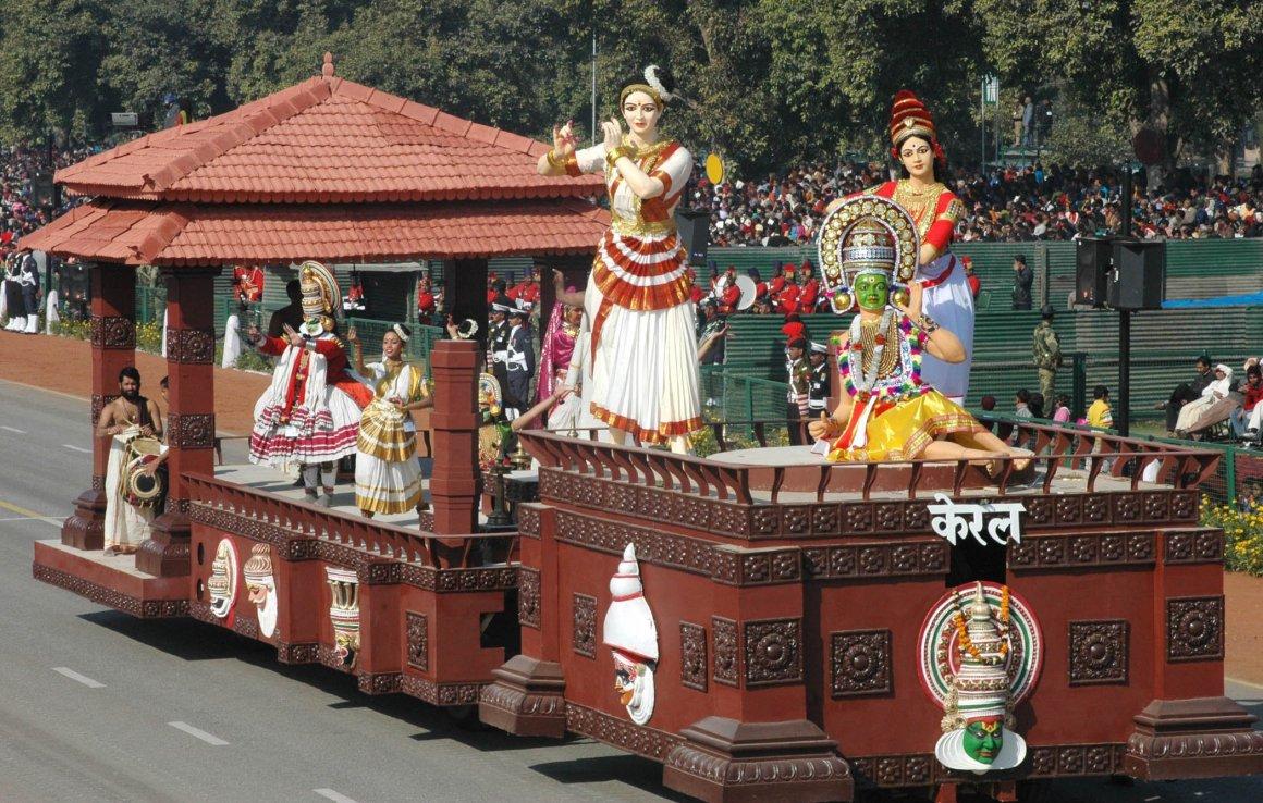 साल 2016 के गणतंत्र दिवस समारोह में केरल की झांकी. (फोटो साभार: सूचना एवं प्रसारण मंत्रालय)
