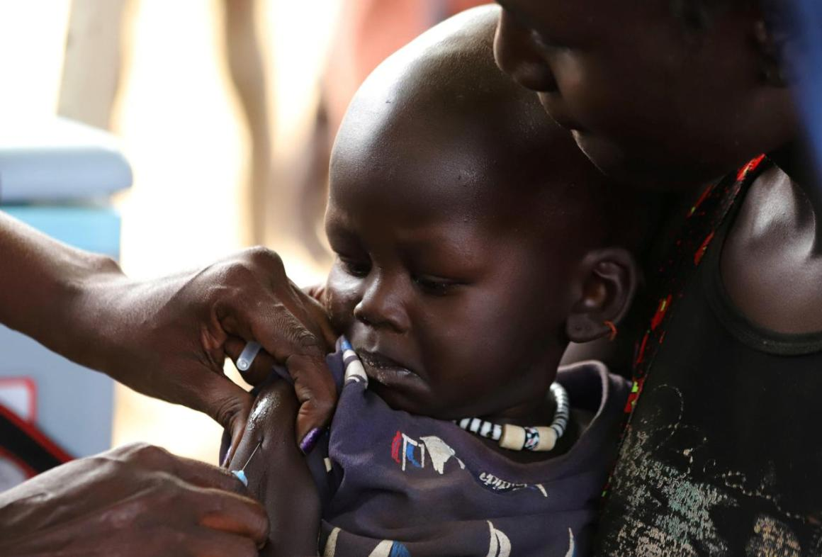 Measles Vaccination Reuters
