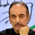 **EDS: FILE PHOTO**New Delhi: In this Sept.15, 2019 file photo, senior Congress leader Ghulam Nabi Azad during a news conference in New Delhi. Azad said he would resign if any links are established after Rahul Gandhi charged that the letter seeking leadership changes was written in cahoots with the BJP, during a CWC meeting, Monday, Aug. 24, 2020. (PTI Photo/Kamal Kishore)(PTI24-08-2020_000071B)