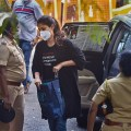 Mumbai: Actress Rhea Chakraborty arrives at NCB office for questioning in connection with the death by suicide case of late actor Sushant Singh Rajput, at Ballard Estate in Mumbai, Tuesday, Sept. 8, 2020. (PTI Photo/Mitesh Bhuvad)(PTI08-09-2020_000036B)
