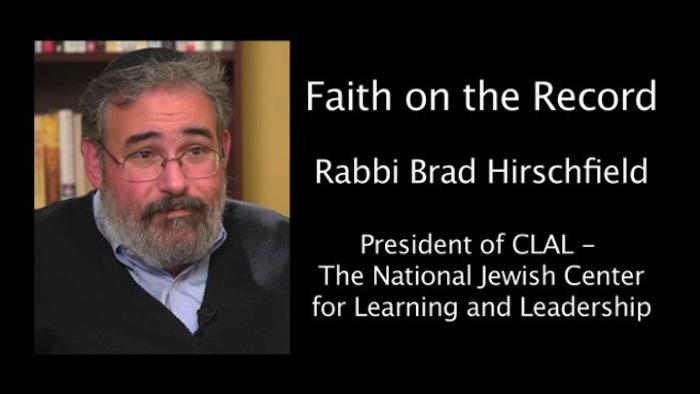 Video: Brad Hirschfield on Washington's Bad Example