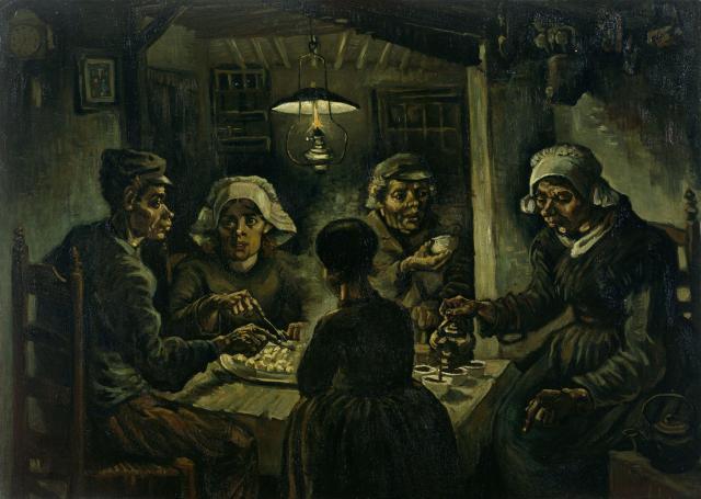 The Potato Eaters, van Gough 1885