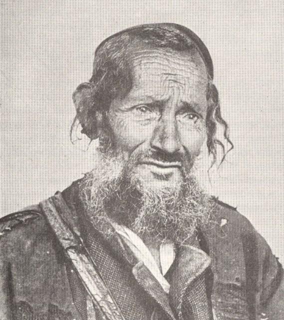 Rabbi Mordechai Aby Serour - c.1870.