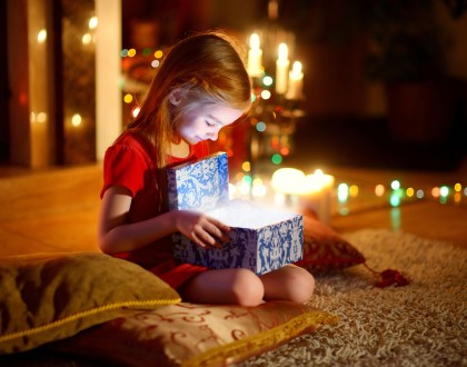 Why Santa Brought The Rabbi's Daughter A Gift