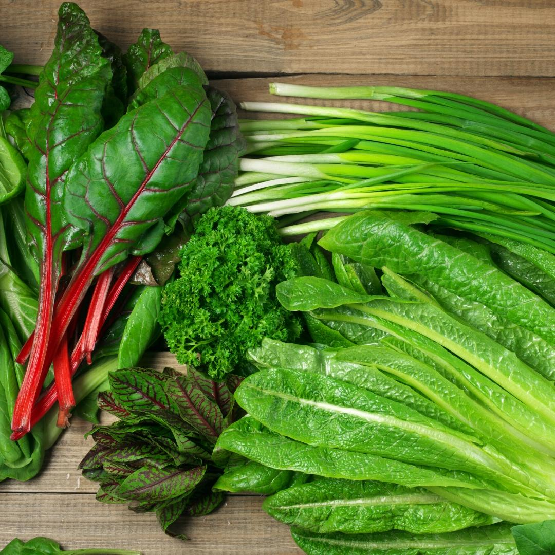 5 leafy greens to add to your diet