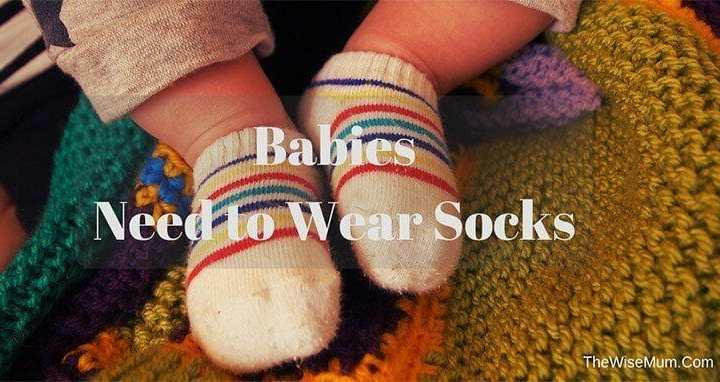 Babies Need to Wear Socks