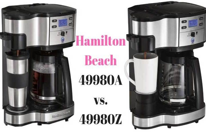 Hamilton Beach 49980A vs. 49980Z