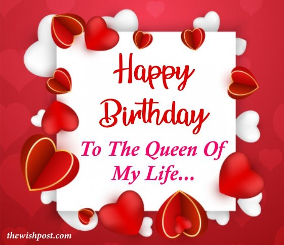 beautiful-happy-birthday-to-the-queen-of-my-life-red-heart-greeting-cards-wishing-quotes-images-for-beloved