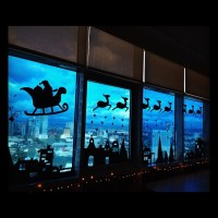 Best Christmas Window Silhouette Decorations 2018