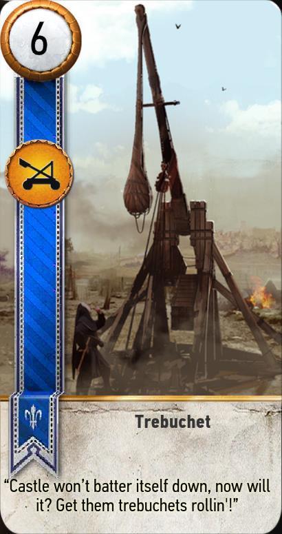 Trebuchet Gwent Card  The Witcher 3 Wiki