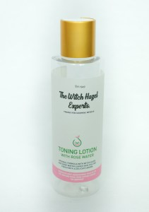 toning lotion with rosewater 150ml gold lid