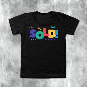 Men Printed Black T-Shirt Round Neck