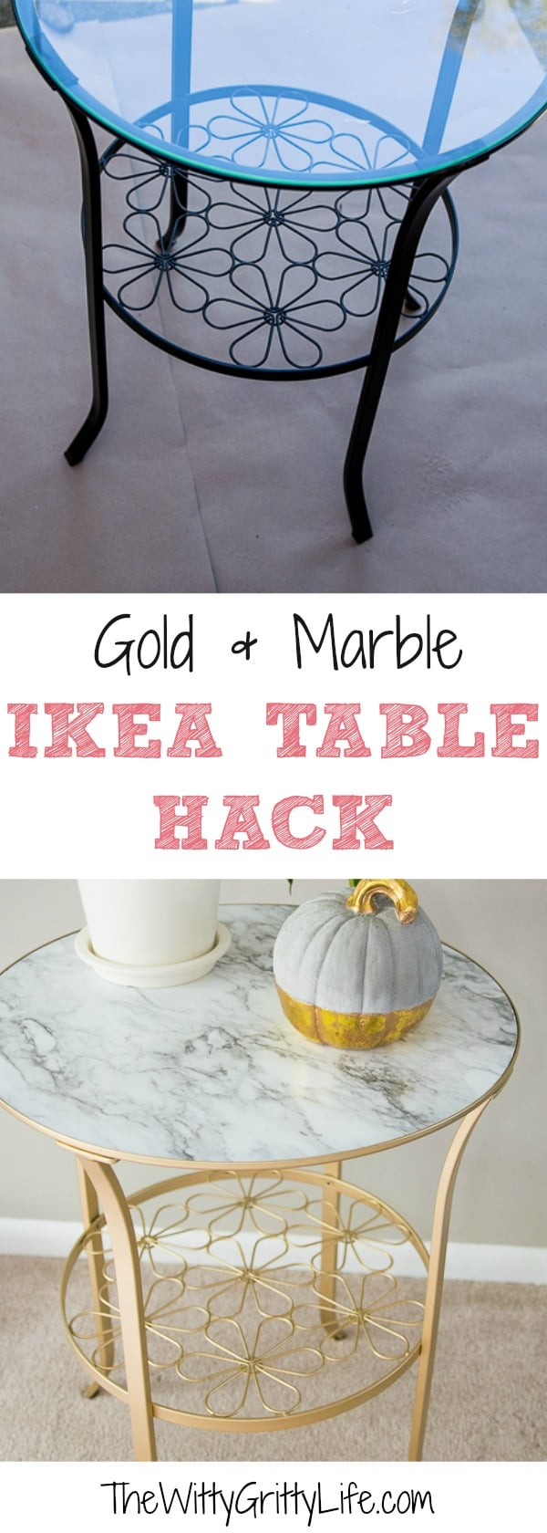 Let me show you how to upgrade with this easy furniture makeover that combines three of my favorite things: gold, marble and affordable Ikea furniture! This is a quick and simple Ikea hack even a beginner can DIY in an afternoon.