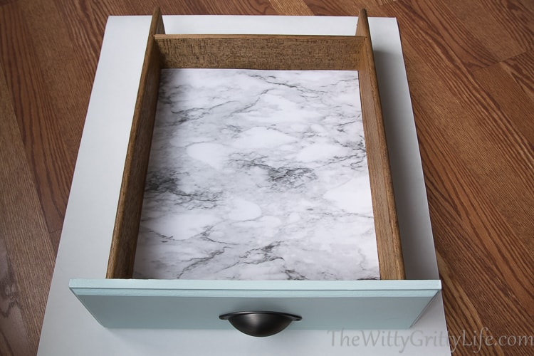 How to line drawers the easy way