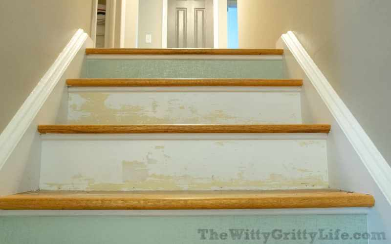 How to apply temporary Wallpaper to Stair Risers and what not to do